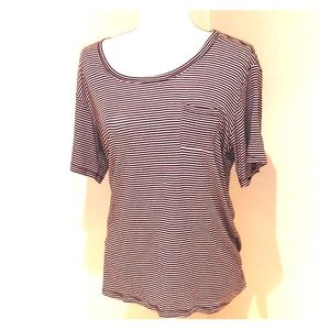 Brandy Melville Stripped Shirt W/Pocket